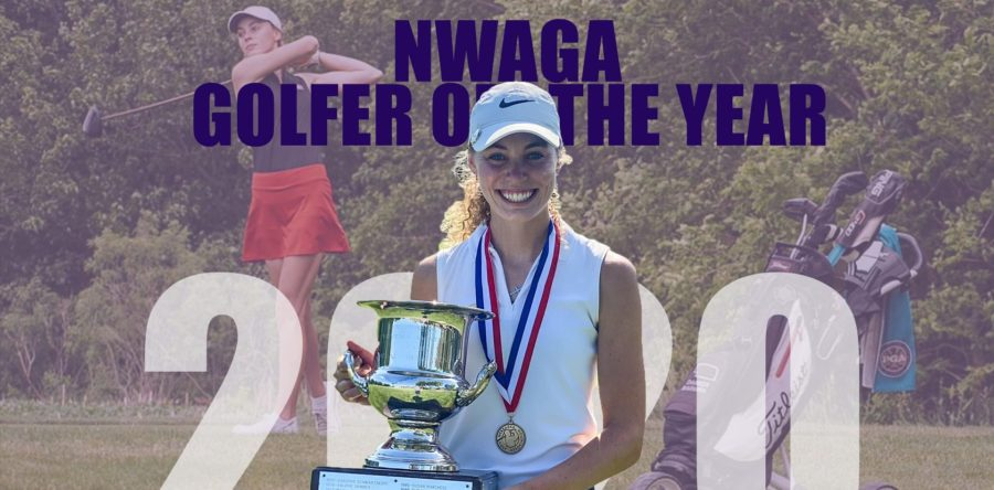 Badura Wins Back-to-Back NWAGA Golfer of the Year