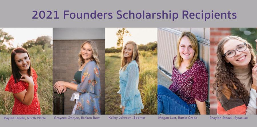 2021 Founders Scholarship Recipients
